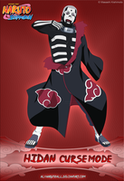 Hidan -Curse Mode- by alxnarutoall