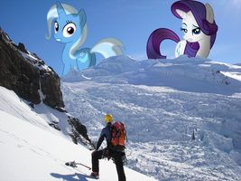 Mares in the Mountains by SomeRandomMinion