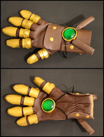 Asami Sato's Equalist Glove by xrenascent