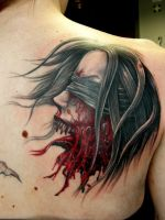 Horror Tattoo by Zerolution