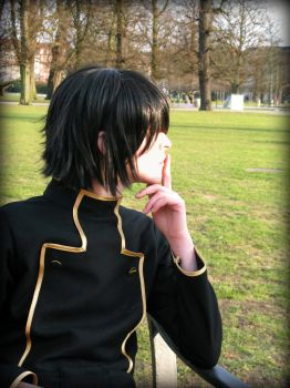 Lelouch Lamperouge by Flybike