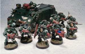 4th Tactical Squad, 4th Company, 1st Legion by Elmo9141