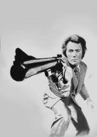 Clint Eastwood - Callaghan by Ponzarello