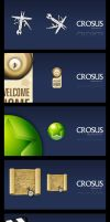 CROSUS browser icons by pixelbudah