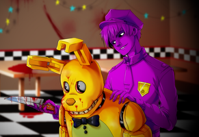 My lovely Spring Bonnie... by ShooterSP