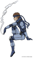 Solid Snake by TariToons