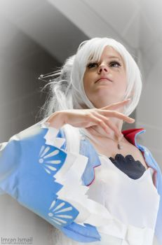 RWBY - Weiss Stage (Close up) by DISC-Photography