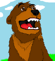Koda Ms Paint by HectorVrl