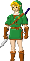 3D Link by tmarts-art