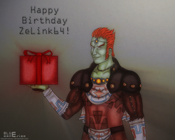 Happy Birthday ZeLink64 by BLUEamnesiac