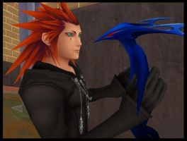 Axel and his heartless by SammyJustNobody