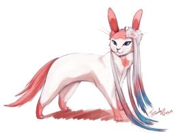 Sylveon by Taddle