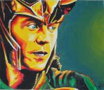 Loki God of Mischief by aerokay