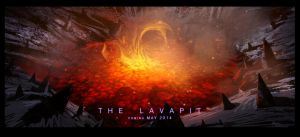 Justin Bieber and the Lava pit by Der-Reiko