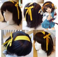 The Melancholy of Haruhi S. by taiyowigs