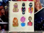 Potter girls hairstyles part 2 by xxMagicGlowxx