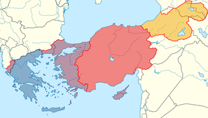 Restored Byzantine Empire by Lehnaru