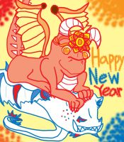 Year of the Dragon...s by Spenchan