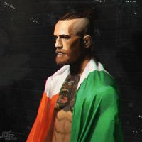 Conor Mcgregor Painting by DarkKenjie
