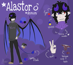 Alastor Ref 2017 by AlterSheep