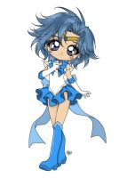 Sailor Mercury: Colored by GangstaCakes