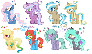 Shipping Foals 2 by CookieDreamAdopts