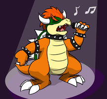 Ballad Bowser by hlavco