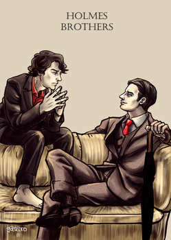 The Holmes Brothers by gataro