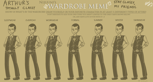 Inception: Arty's Clothes meme by TheKnysh