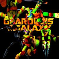 TMNT version of Guardians of the Galaxy by NinjaTurtleFangirl