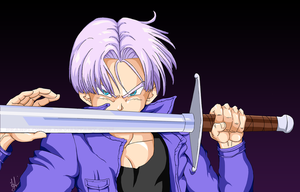 Future Trunks by PearFlower