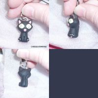 Trigun Kitty Charm by ChibiSilverWings