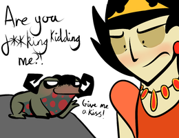 Don't starve: KISS THE FROOOOOOG! by ProfessorLucario9