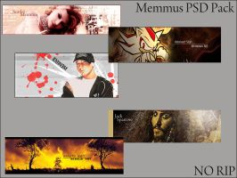 Memmus PSD Pack by Memmus