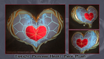 Twilight Princess Heart Piece Plush by tavington