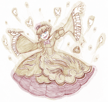 The Golden Witch by laurytheotter