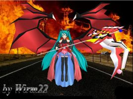 Miku Devil - World Domination by Wirm22