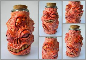 Putrid Stash Jar by dogzillalives