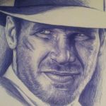 Detail on ball point pen Indy by MagnaSicParvis