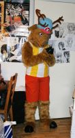 Tony Tony Chopper fursuit by Maria-M--aka--Bakura
