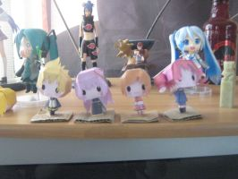 My Paper crafts-Vocaloid by GaaraFanILG
