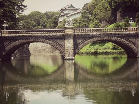 Imperial Palace Bridge by dancingglass