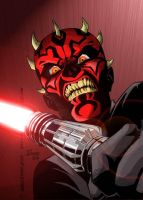 Darth Maul by fargnay