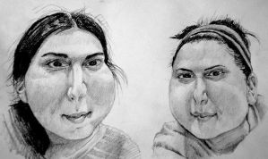 fat faces by KingVahagn