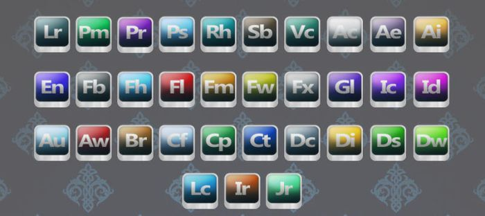 Adobe Icon pack by NikCompany