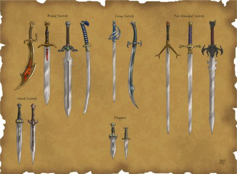 DS: Swords by willowWISP