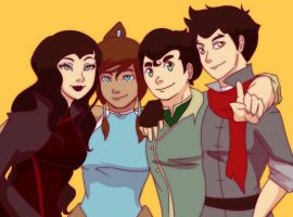 The Korra Krew by cookiekhaleesi