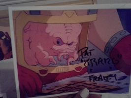Pat Fraley Autograph by YoruichiNyow