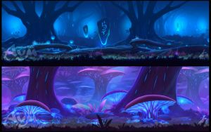 Background  Samples by ArdenRey