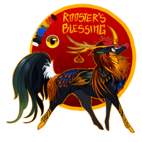Rooster's Blessing by Jei9
